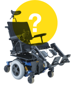 Wheelchair question mark