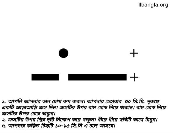 blind-spot-test-pattern